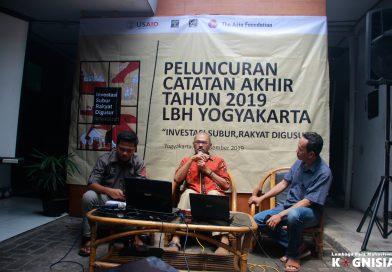 Catatan Akhir Tahun LBH Yogyakarta: Sebuah Refleksi Perjuangan