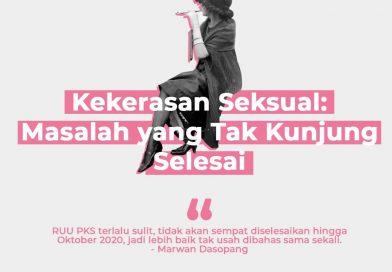 Kekerasan Seksual: Masalah Bersama yang Tak Kunjung Selesai.
